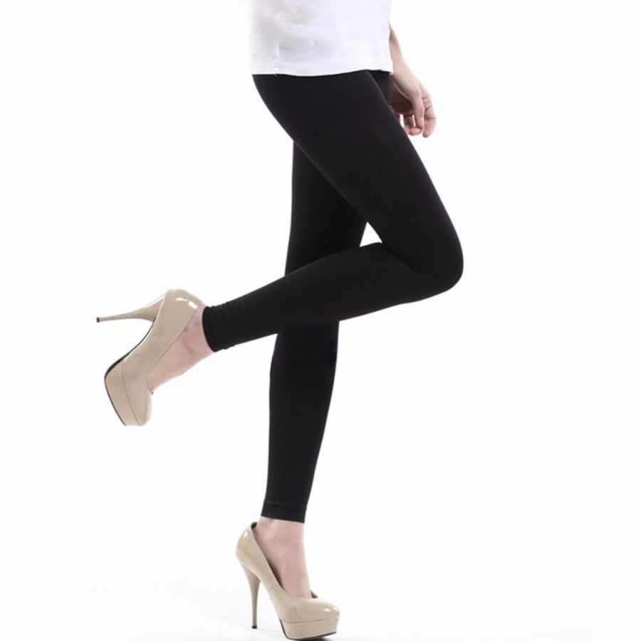 120D Thick Women Sexy Footless Tights Warm Seamless Pantyhose Elastic Medias Slim Collant Femme
