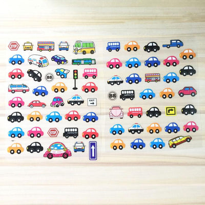 1 Piece Patch With Various Small Ironing Stickers Lovely Micro-Cars Iron On Patches For Clothing Heat Transfer Appliques - Dailytechstudios