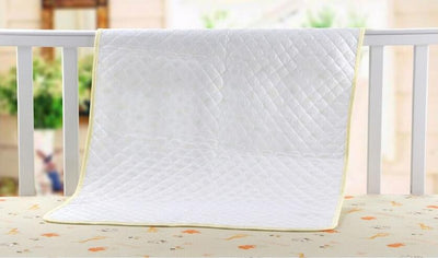 1 PCS Soft Cotton Baby Urinal Pad Bed Duckling Printed Waterproof&Breathable Changing Pad for Crib 70*50CM - Dailytechstudios