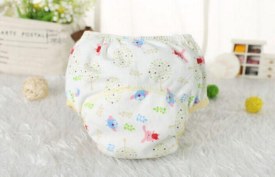 1 pcs Baby Training Pants Child Cloth Study Pants Reusable Nappy Cover Washable Diapers +Diapers trx0007 - Dailytechstudios