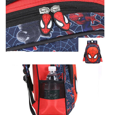 1-2 Grade 3D New Primary Children School Bags For Boys Backpacks Boy Character Spiderman Book bag Kids Satchel Knapsack Mochila  UpCube- upcube