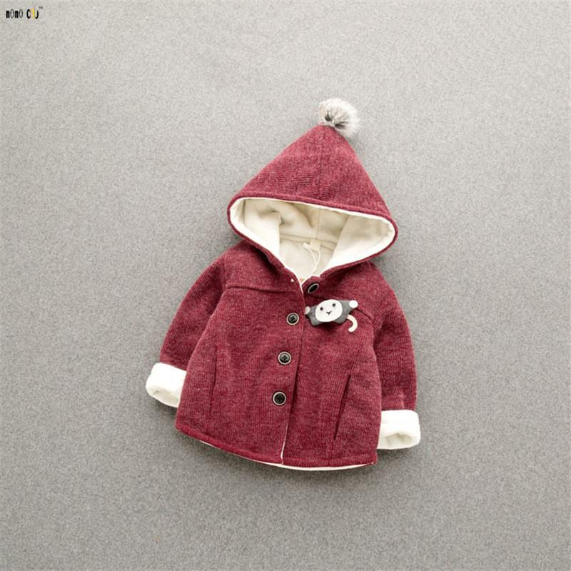 f3c7edcd0 Unisex Baby Jacket And Coat Girls Boys Clothes Hoodies Thicken ...