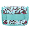 1 Pc 20-Slot Green New Style Birds Pattern Portable Shock-resistant Essential Oil Carrying Storage Case Bag Double Zips M 1STL - Dailytechstudios