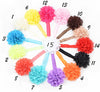 1 Pcs Lytwtw's Candy Color Headwrap Baby Headbands Headwear Girls Hair Hairband Bronzing Hollow Flower Head Band Infant Newborn - Dailytechstudios