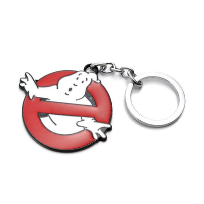 1PCS New Arrivals Ghostbusters Logo Model Keychain Toys Action Figures Movie Anime Ghost Buster Key Ring Pendant Toys  UpCube- upcube