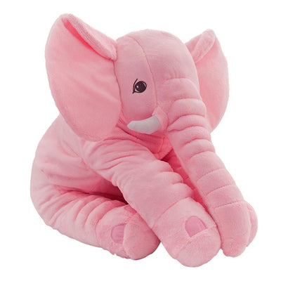 1pc 60cm Baby Soft Appease Elephant Plush Toy Kids Playmate Calm Doll Infant Appease Toys Elephant Pillow Soft Stuffed Doll  UpCube- upcube