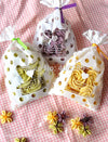 100Pcs 13x19cm Heart Lace Butterfly Dot Little Flower Bread Cookie Bag Cake Bag Gift Cookie Packing Christmas Flat Opp Bag  UpCube- upcube