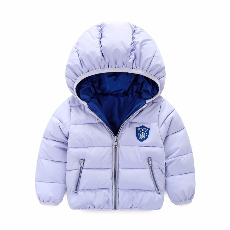 30536cd2c Baby Boys Jacket 2017 Winter Jacket For Girls Bomber Jacket Kids ...