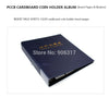 #802330 PCCB 20 Cardboard coin holder album, Coin Album Binder, insert page sheets, paper card, 300*270*50mm Free shipping - Dailytechstudios