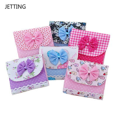 1pcs Random Color Sanitary Napkins Pads Carrying Easy Bag Small Articles Gather Pouch Case Bag(Random Color) Cosmetic Bags  dailytechstudios- upcube