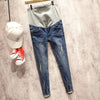 0-profit !2017 Maternity clothing maternity jeans trousers skinny pants spring and Summer Ripped fashion and leisure - Dailytechstudios