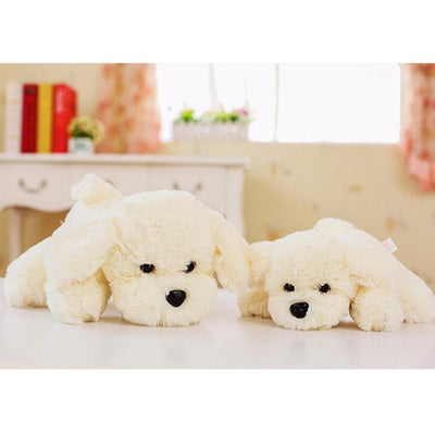 1pc 20cm Super Kawaii White Dog Plush Toy High Quality Lovely Cute Dog Stuffed Toys Baby Toy Wedding Decors Kids Gift  UpCube- upcube