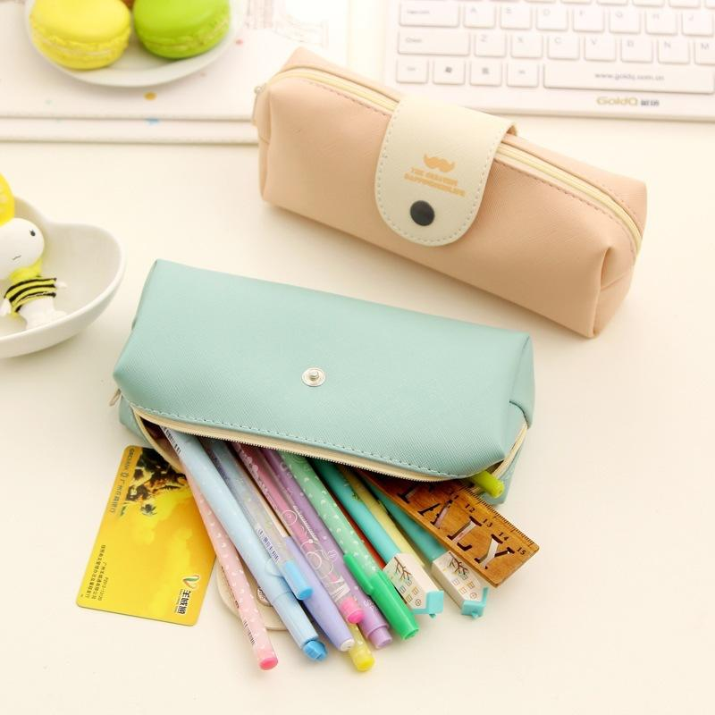 (1pcs/sell) PU Snap Fastener Womens Travel Cosmetic Bags High Quality Makeup Bag Make Up Bag Neceser Luxury Brand Famous Brands - Dailytechstudios