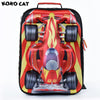 2017 Cartoon 3D Kids Children School Backpack Cool Gold Car Bags Boys Bookbag School Backpacks for Teens Boy Student Schoolbag  UpCube- upcube
