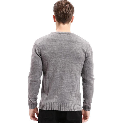 520763fe9440d4 Celucasn Top Quality Famous Brand 2017 New Fashion Men Sweaters and Pullovers  Criss-Cross knitting