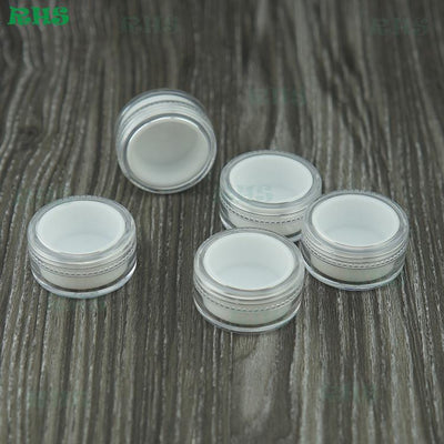 100pcs Non-stick silicone food containers FDA food grade silicon wax container clear 5ml container for concentrate wax oil  UpCube- upcube