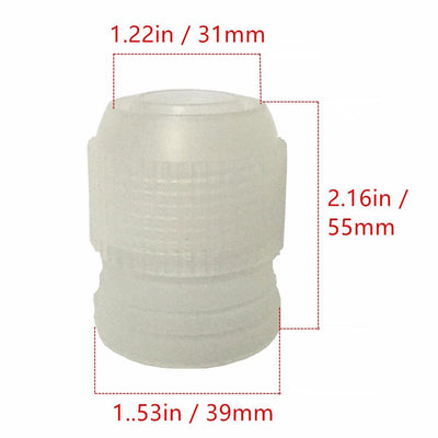 1 pcs Large Icing Piping Nozzle Converter Adapter Cream Coupler Cake Cupcake Decoration Connector Fondant Cake Decorating Tools - Dailytechstudios