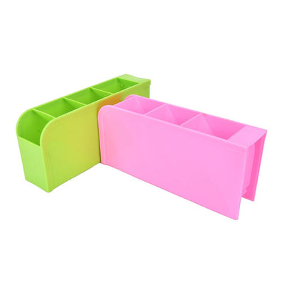 1PC 26.7*9*6.7cm Multifunctional Underwear Organizer Plastic Stationery/Tableware Storage Box Cosmetics Makeup Organizer Box  UpCube- upcube