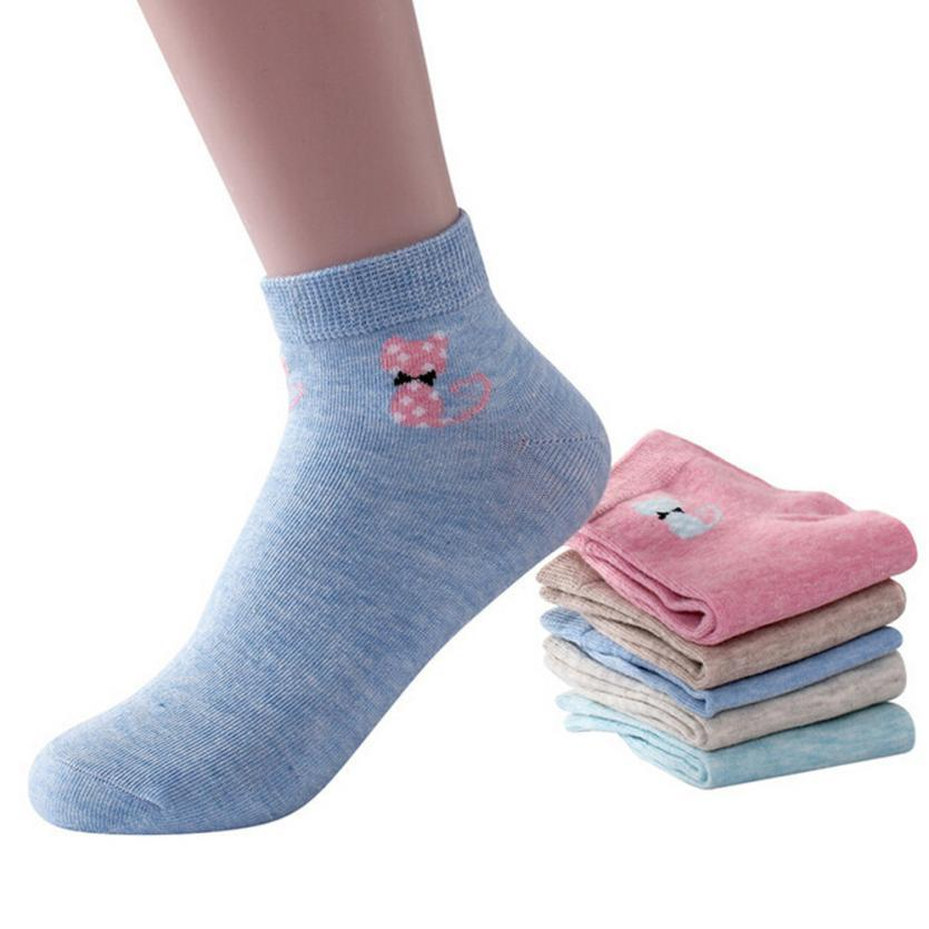 CHAMSGEND Women Keep Warm Cotton Skateboard Sock Comfortable Cartoons unisex lace knit boot socks Socks Drop Shipping 1F2