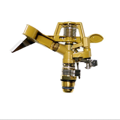 1 Pcs Zinc Alloy Rotate Rocker Arm Water Sprinkler Garden Irrigation 1/2' Connector Spray Angle Adjustable 15-360 Degrees - Dailytechstudios
