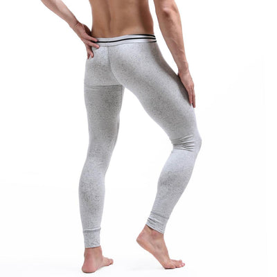 1PCS Men's Fashion Star Print Warm Long Johns Clothes Male Sexy Cotton Slim Hip Leggings Tight Pants Men Long Pants Underwear  dailytechstudios- upcube
