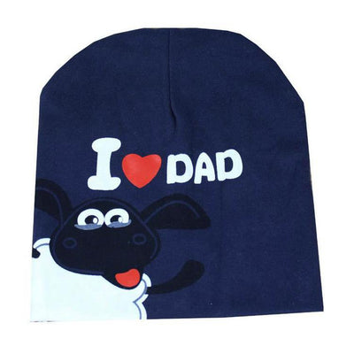 """I LOVE DAD&MUM"" Unisex Baby Boy Girl Toddler Cotton Soft Cute Hat Caps Beanie For Baby 6 Colors Free Shipping W1 - Dailytechstudios"