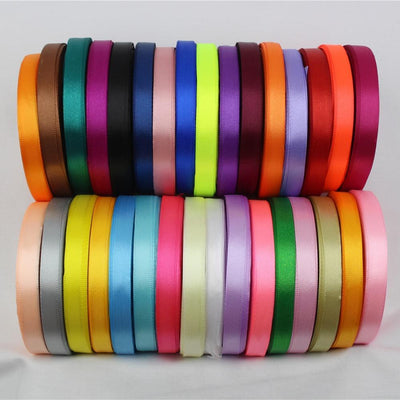 (22 meters/roll) 10mm Ribbon Satin Ribbons Gift Packing Christmas Ribbons Wedding Party Decorative DIY Crafts supplies Ribbons - Dailytechstudios