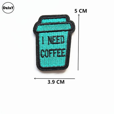 1 PCS Camera Embroidered Iron on Patches for Clothing DIY Stripes Clothes Patchwork Sticker Custom Finger Applique @Z 12-21 - Dailytechstudios