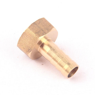 "1pcs NuoNuoWell Brass 1/2""-10mm Female Straight Hose Connector Garden Irrigation Watering Pipe Metal Adapter Coupler Fittings  UpCube- upcube"