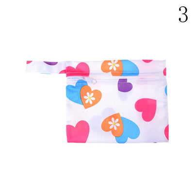 1PCS Reusable Waterproof Baby Diaper Bags Washable Zipper Baby Cloth Diaper Wet Dry Bag for Baby Nappy Storage  UpCube- upcube