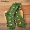 1 Pairs Funny meias Women's Cartoon Creative Novelty Animal Socks Girls Cute Harajuku Female Warm Cotton Sox 35-40 Crew Socks - Dailytechstudios