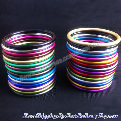 "100pcs/50pairs 3"" colorful baby sling rings with good reputation  UpCube- upcube"