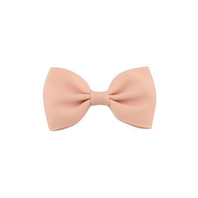 1 Pcs Mini 2.75'' Bow Tie Hair Clip Small Sweet Solid Ribbow Bow Safety Hair Clips Kids Hairpins Accessories gift 643 - Dailytechstudios
