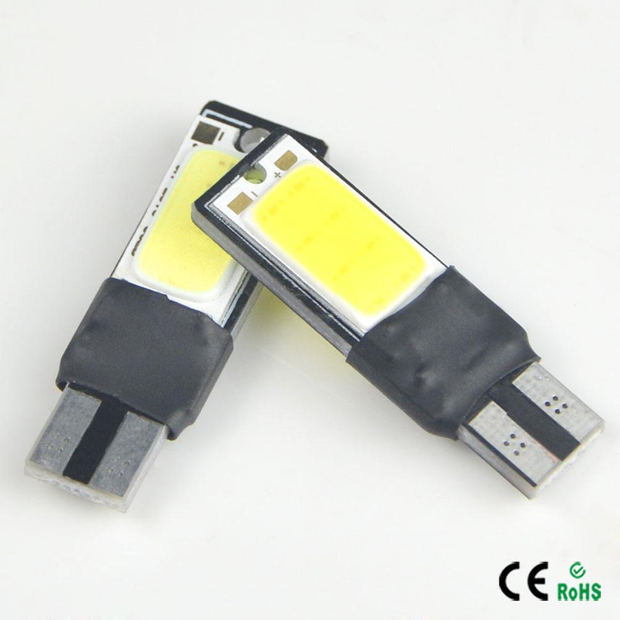 1 X White High Power CANBUS T10 W5W 194 192 168 COB Car Auto LED lamp bulb Interior Singnal Fog Parking No Error Clearance light