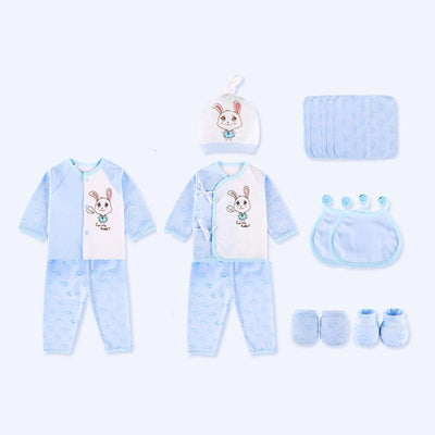 (15Pcs/Set) High Quality 100% Cotton Newborn Baby Clothing Gift Sets Infant Cute Suit Baby Girls Boys Clothes Gift - Dailytechstudios
