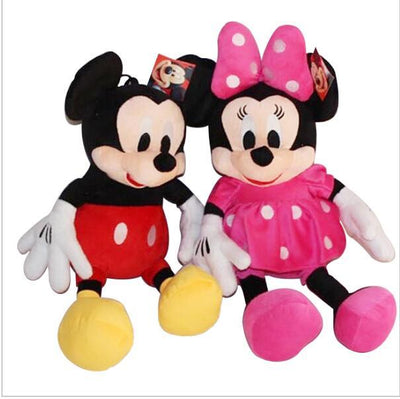 1pc 50cm Classical Plush Toy Stuffed Animal Mickey And Minnie Mouse Stuffed Doll For Children's Gift Christmas Gift  UpCube- upcube