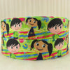 "(5yds per roll) 1""(25MM) cartoon high quality printed polyester ribbon 5 yards,DIY handmade materials,wedding gift wrap,5Yc1155 - Dailytechstudios"