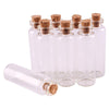 100pcs 16*50*6mm 5ml Mini Glass Wishing Bottles Tiny Jars Vials With Cork Stopper pendant crafts  UpCube- upcube