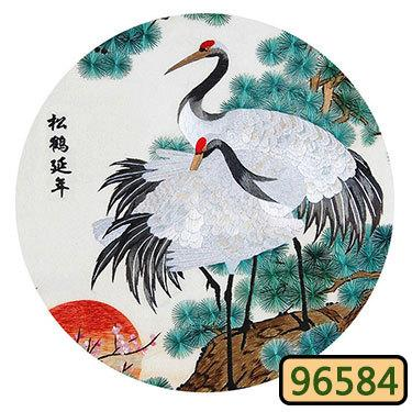 100% silk thread Embroidery kit / Suzhou Classical Embroidery Chinese traditional art of embroidery/Cross Stitch Kits / 002