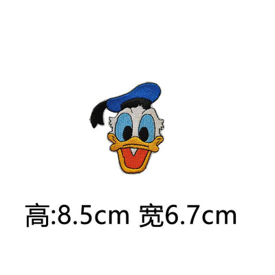 1PCS Mickey Minnie Bee Icon Pink Cloth Badges Stickers for Clothes Embroidered Decoration Patch Backpack cloth Patches Cat  UpCube- upcube