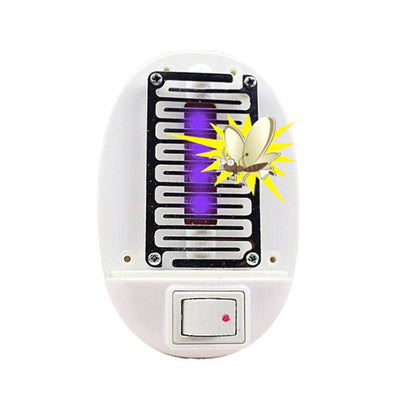 1Pcs LED Electric Mosquito Fly Bug Insect Trap Zapper Killer USA Plug Night Lamp Color Random  UpCube- upcube