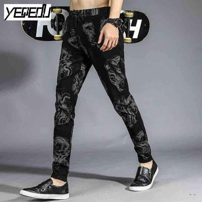 #1655 2017 Space cotton 3d print Hip hop pants Joggers Harajuku sweatpants Stretch Casual harem pants men Pantalon hombre 4XL - Dailytechstudios
