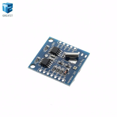 1pcs/LOT I2C RTC DS1307 AT24C32 Real Time Clock Module ()For AVR ARM PIC Tiny RTC I2C modules memory DS1307 clock  upcubeshop- upcube