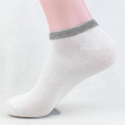 1Pairs Unisex Casual Business Solid Socks Stripe Sock Women&Men Comfortable Short Ankle Socks Boat Socks Dropshipping 1220  UpCube- upcube