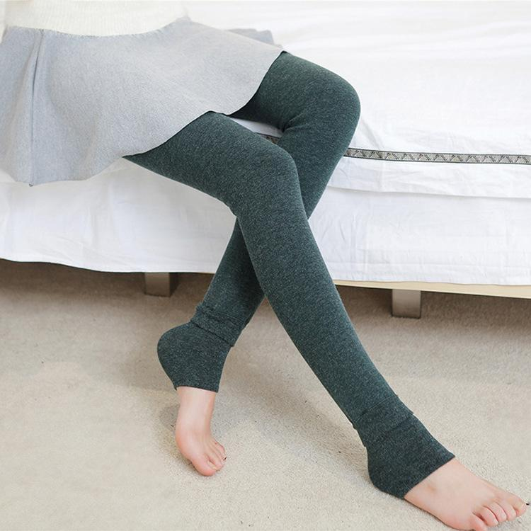 2016 new Free shipping Women Autumn winter thermal cashmere no pilling leggings Lady Girl Warm slim leggings 50011