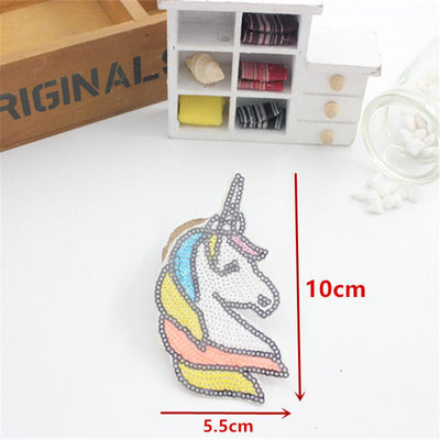 1pcs hot patches badge for clothing iron embroidered patch applique iron on patch DIY sewing accessories for clothes  UpCube- upcube