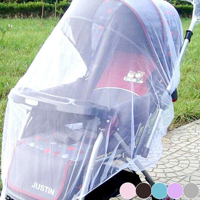 1Pc 150cm Summer Baby Stroller Mosquito Net Netting Cover Accessories infant Pushchair helper  UpCube- upcube
