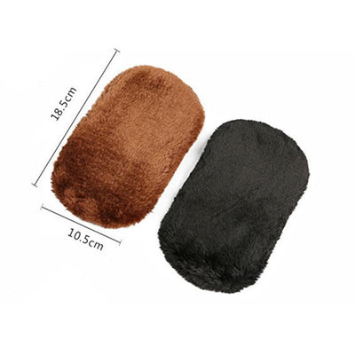 1Pcs New Arrival Shoe Care Brush Soft Wool Plush Shoe Gloves Wipe Shoes Mitt Suede Shoes Cleaner  UpCube- upcube