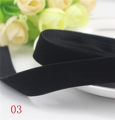 "1"" 25-26mm width velvet ribbon for packing and decoration (2 yards / lot) 040003005003 - Dailytechstudios"