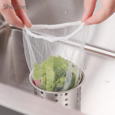 100pcs Nylon Mesh Filter Bag for Nut Milk Tea Fruit Juice Brew Wine Cloth Bags Kitchen Cooking Useful Colander Strainer  UpCube- upcube